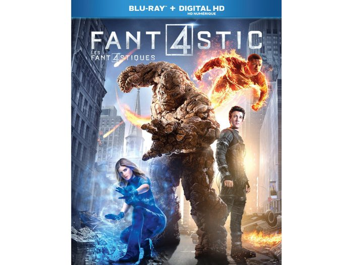 Blu Ray case for Fantastic 4