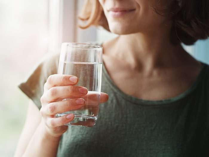 How much water you should drink - woman drinking water