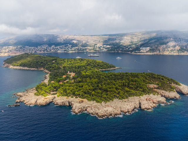 Lokrum Island, off the coast of Dubrovnik