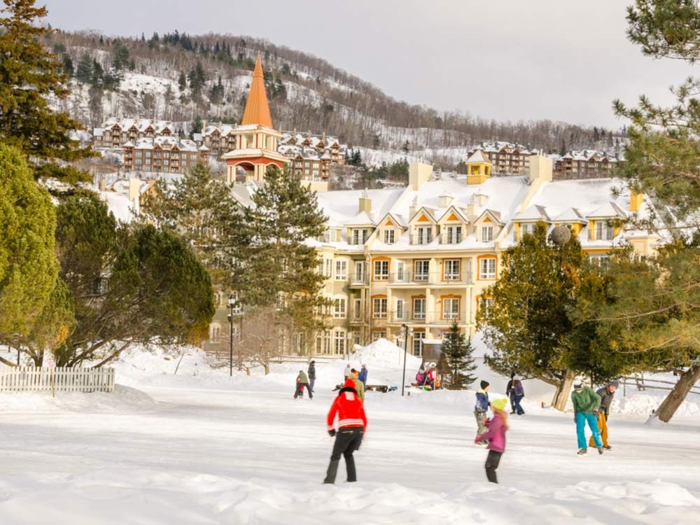 Laurentians in Quebec