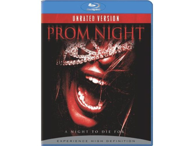 Blu Ray case for the Prom Night remake