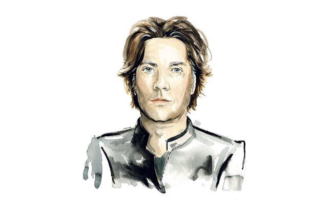 Illustration of Rufus Wainwright