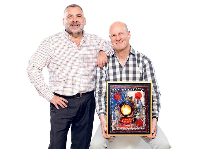 Gary Blair and Earl Pinchuk, Art for Healing