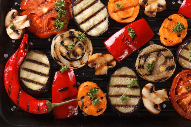 Grilling tips for vegetables