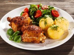 Roasted Dijon Chicken