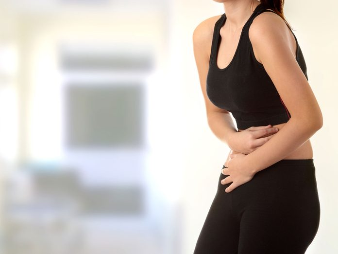 Stomach irritation as a side-effect of fatty liver disease