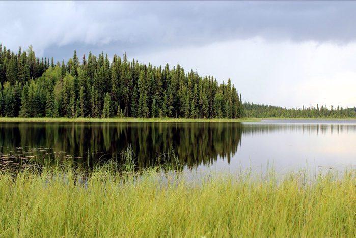 Maqua Lake in Fort McMurray, Alberta
