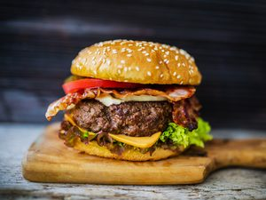 The Worcestershire Burger