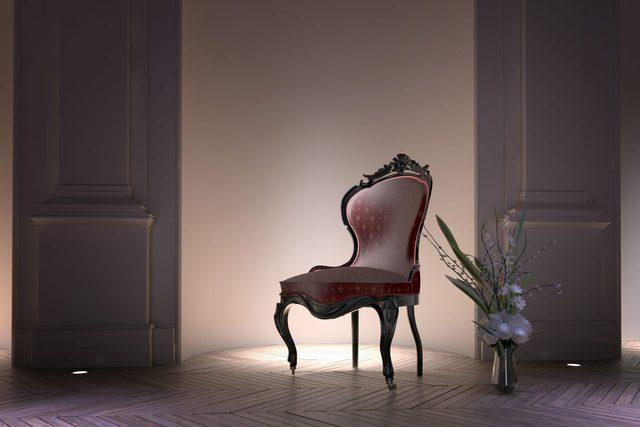 Alcove in room