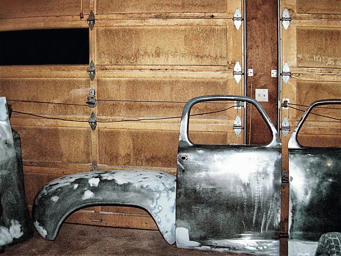 New Studebaker door