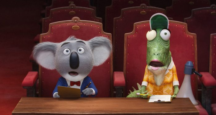 Animal characters in Sing