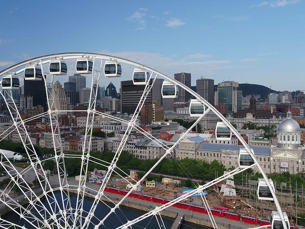 La Grande Roue Observation Wheel in Montreal