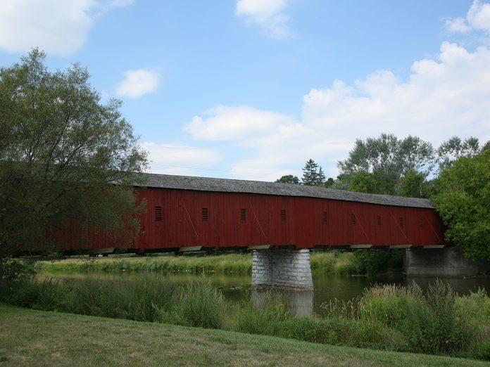 West Montrose Covered Bridge, Waterloo Region