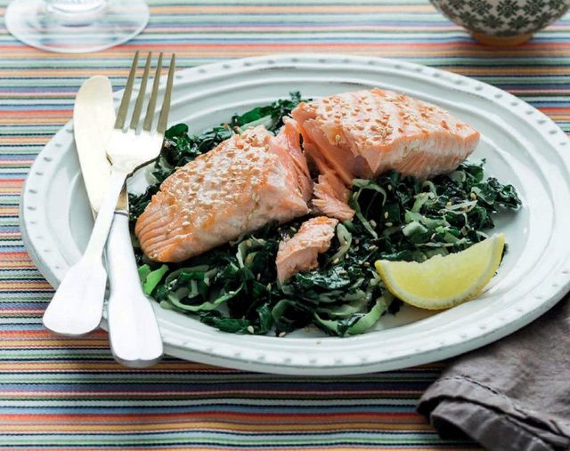 Chargrilled Salmon is one of the simplest mind-improving seafood recipes