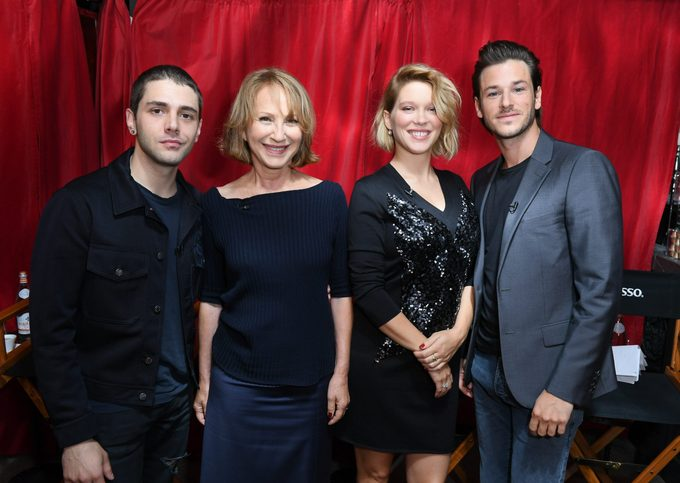 Xavier Dolan, Nathalie Baye, Lea Seydoux and Gaspard Ulliel of Its Only the End of the World