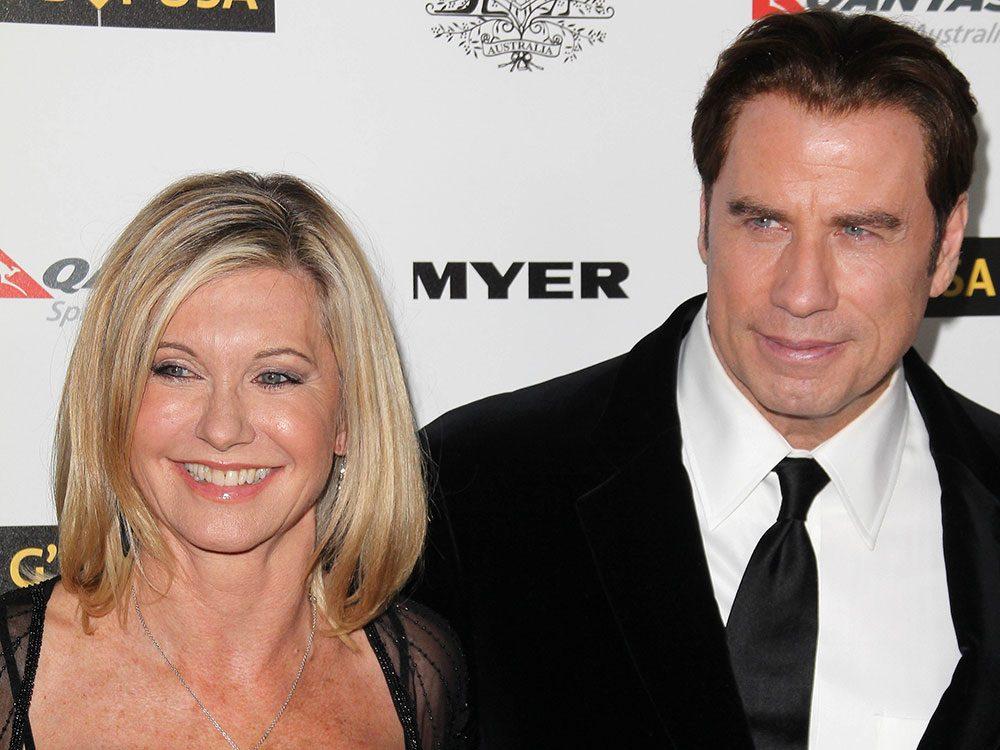 Olivia Newton John and John Travolta