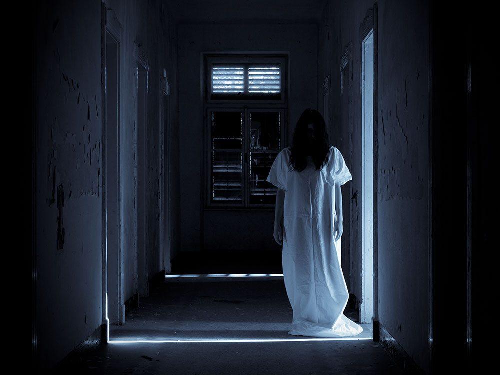 Little girl ghost