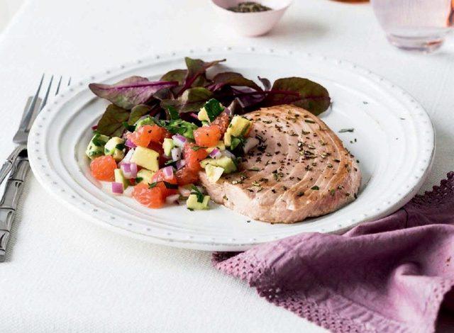 Pan-Fried Swordfish