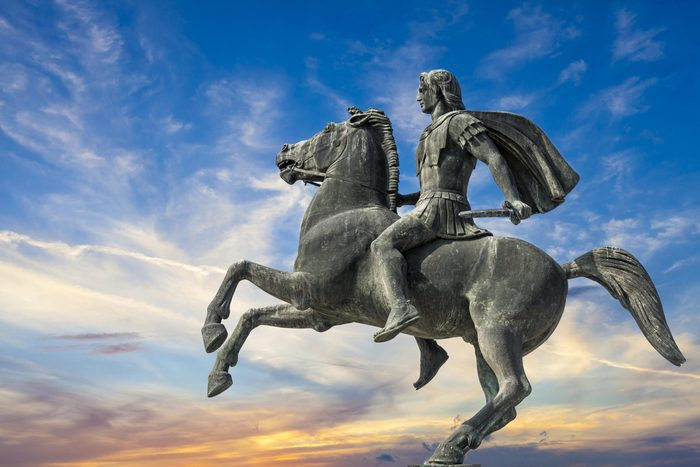 Alexander the Great statue