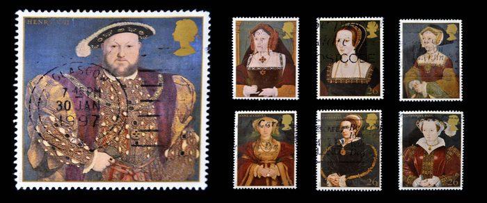 Henry VIII postcard