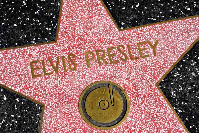 Elvis Presley stars on Hollywood Walk of Fame