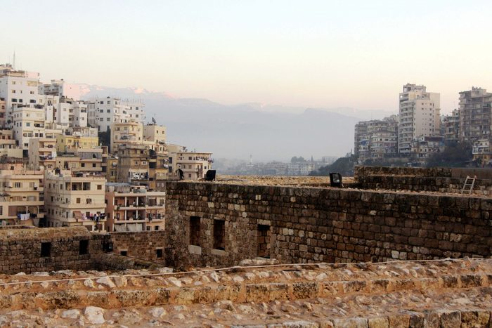 Citadel of Raymond de Saint-Gilles, Tripoli, Lebanon