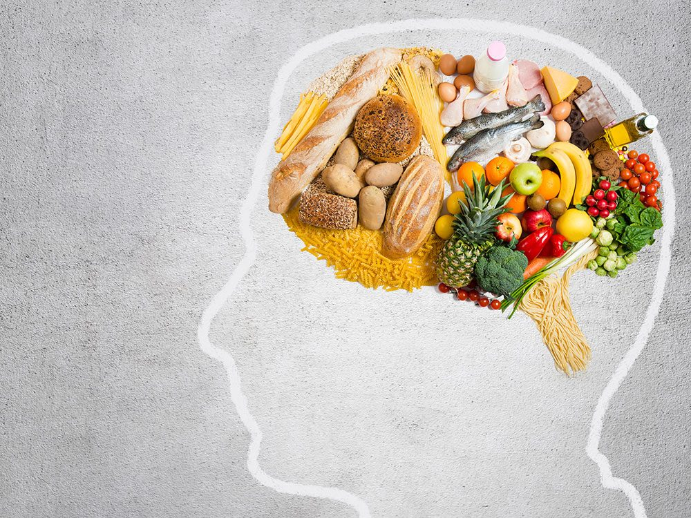 Feeding the brain with healthy food