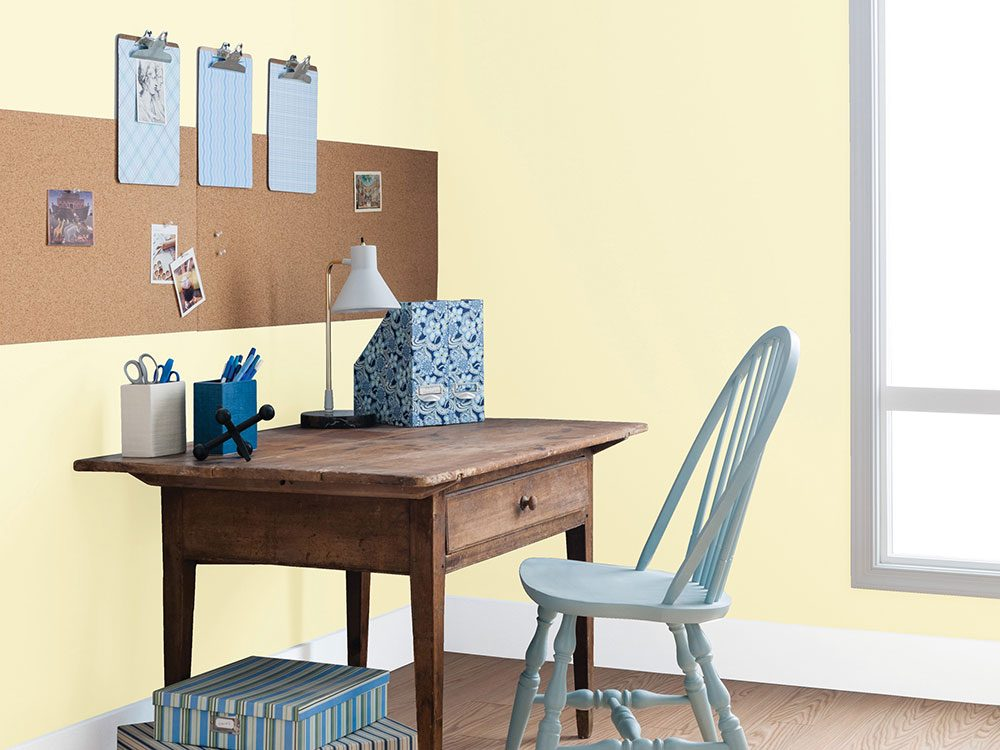 Candlelight Yellow home office