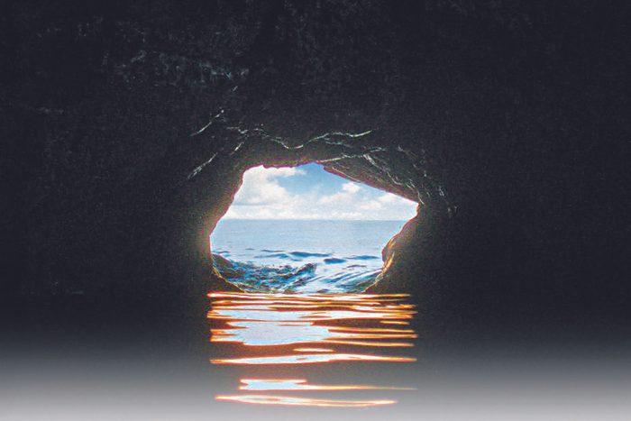 Fairy Hole Cave in Cape Breton