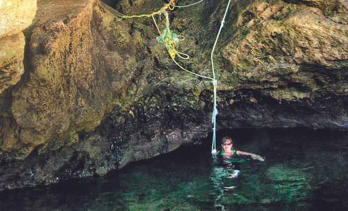 Andrea MacEachern swimming