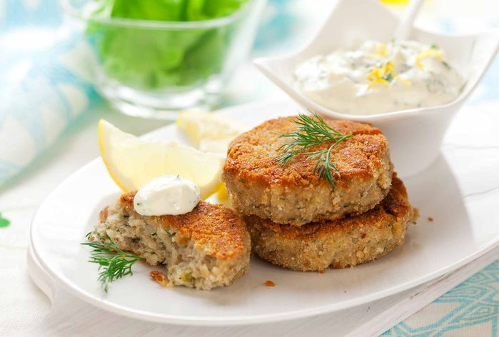 Smoked Paprika Fish Cakes