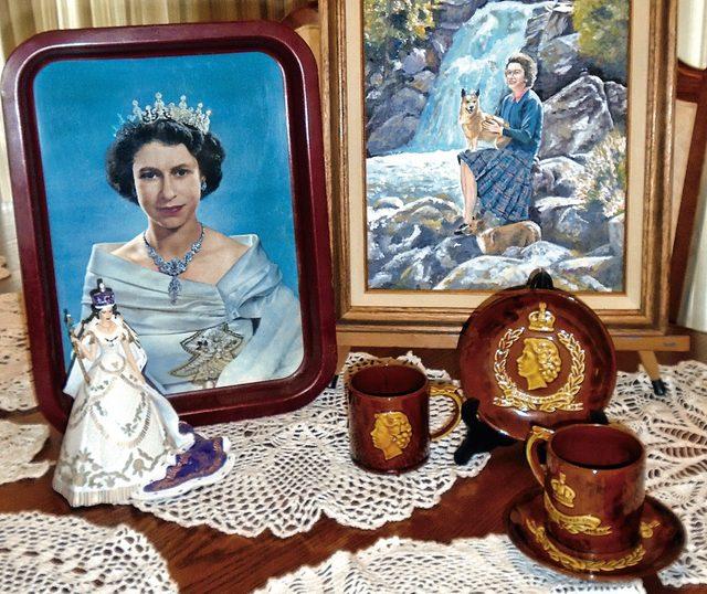 Queen Elizabeth II memorabilia