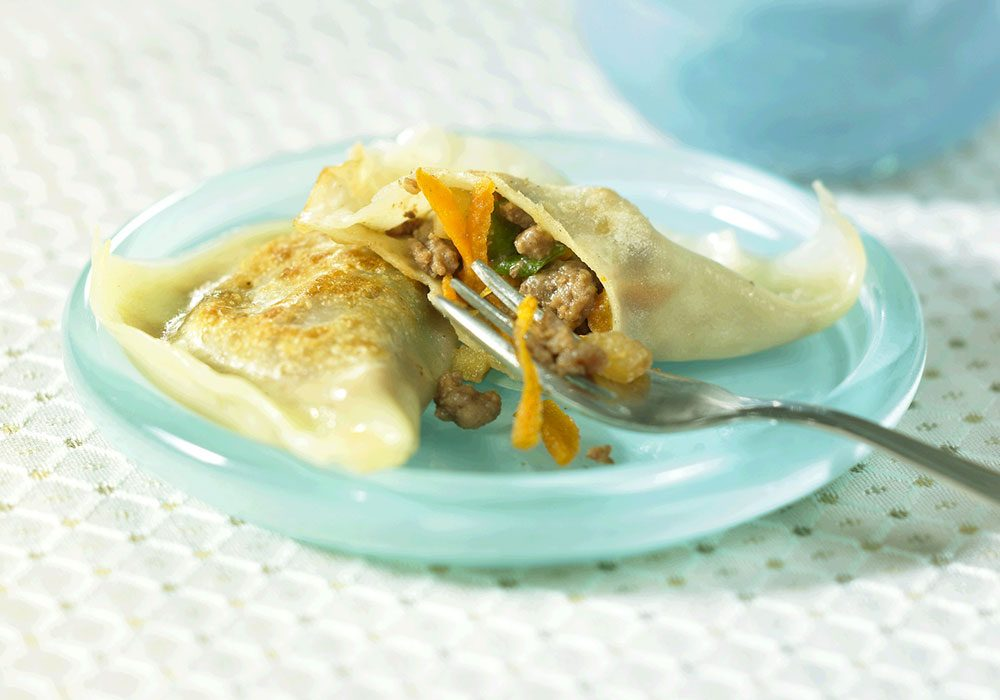 Asian Beef Pot Stickers