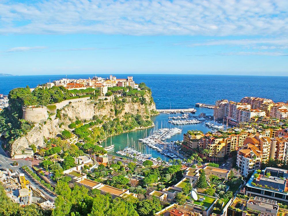 Monaco, Cote d'Azur