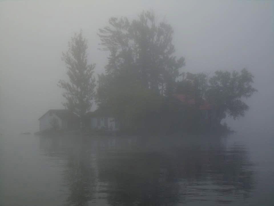 Deep foggy morning