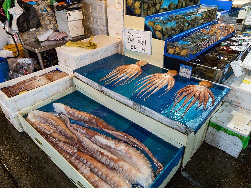 Noryangjin Fishery Market, Seoul