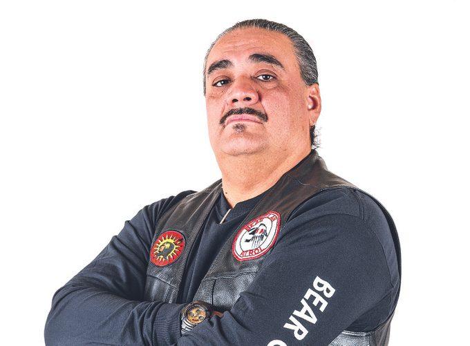 James Favel, of Bear Clan Patrol