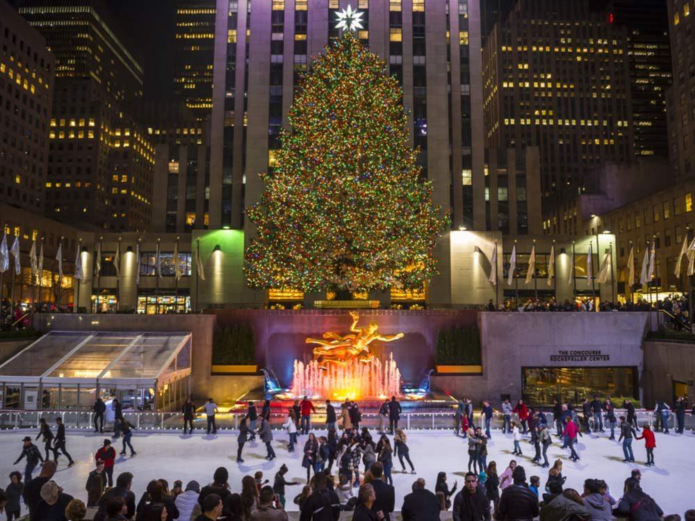 Christmas in Rockefeller Center, New York