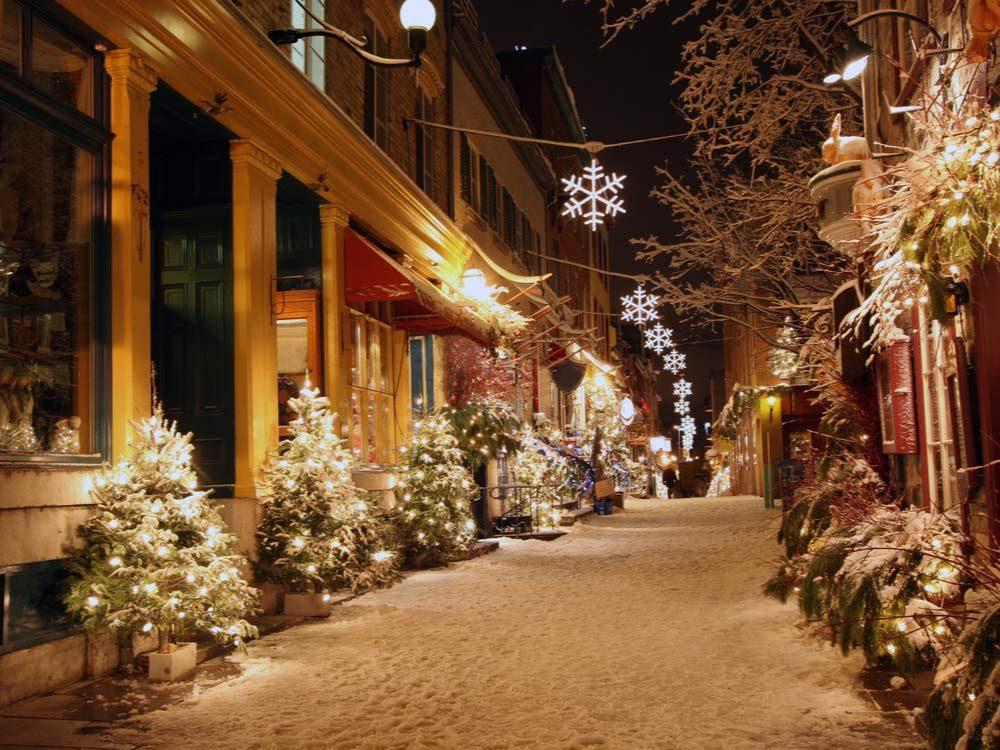 Christmas in Quebec City, Quebec