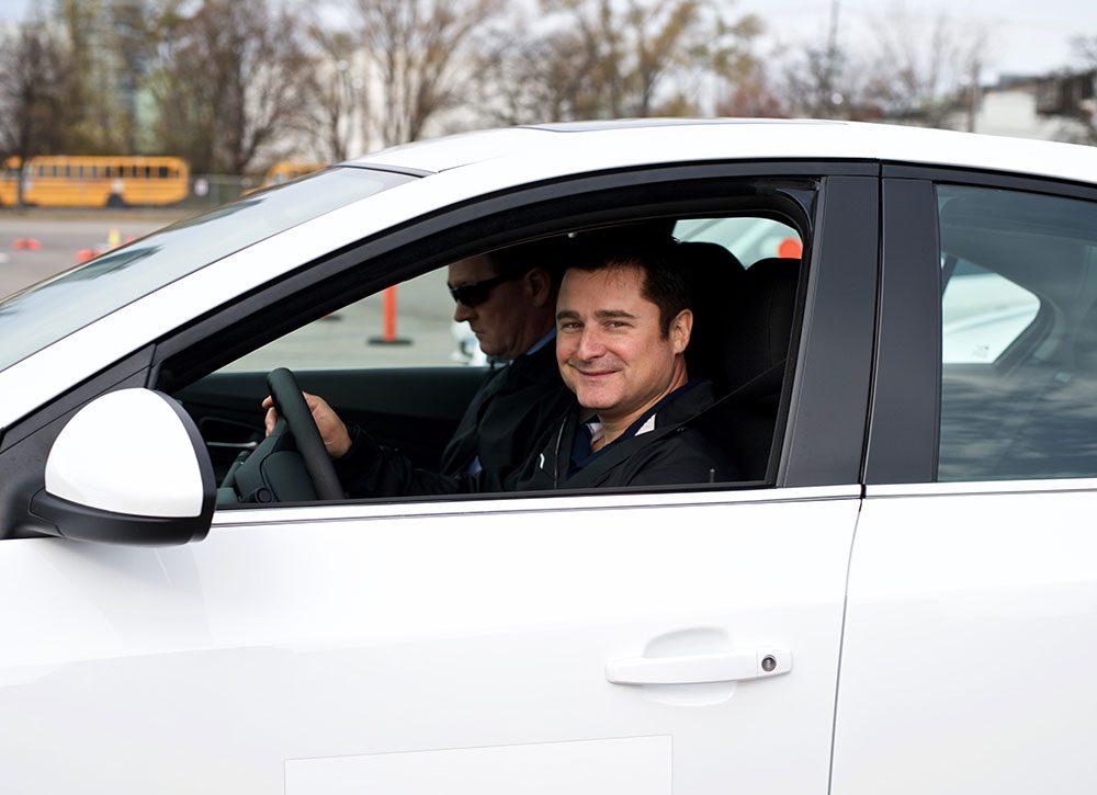 Driving expert Carl Nadeau