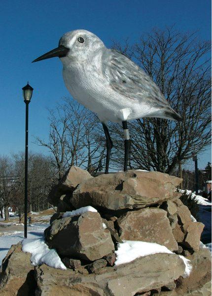 Giant bird statue in N.B.