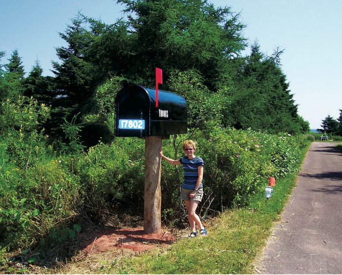 Giant letterbox in Prince Edward Island