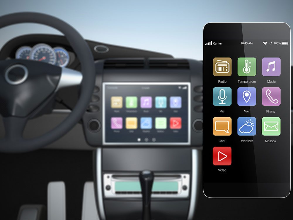 Smartphone apps for drivers