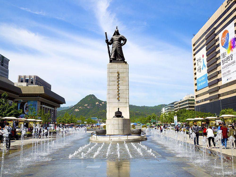 Gwanghwamun Square, Seoul