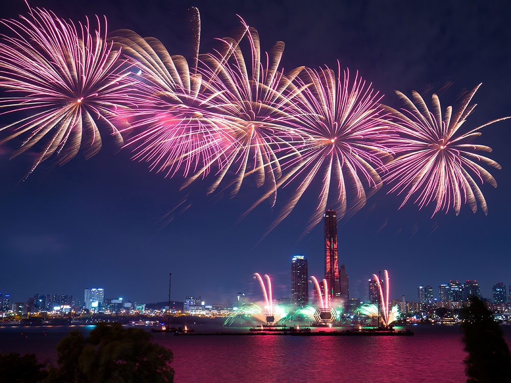 Fireworks Festival, Yeouido Hangang Park, Seoul