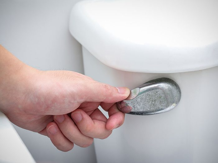 You're taking more bathroom breaks