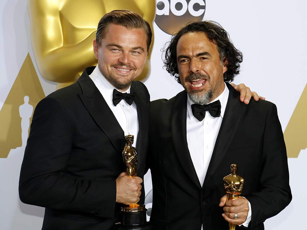 Leonardo DiCaprio and Alejandro Gonzalez Inarritu