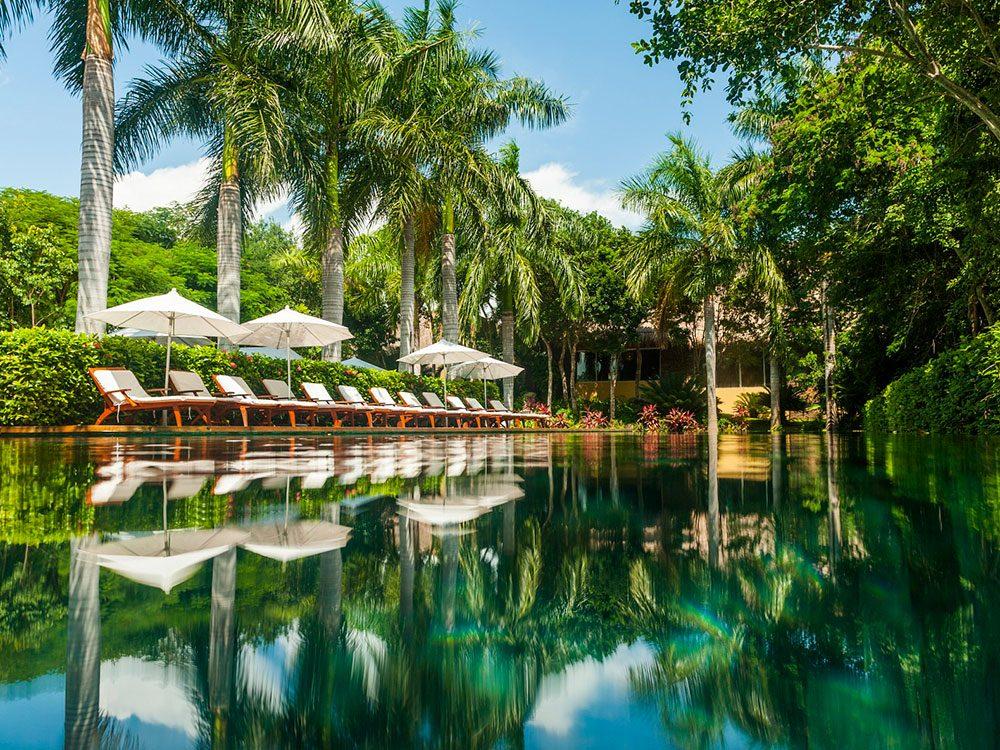Pool at Grand Velas Riviera Maya