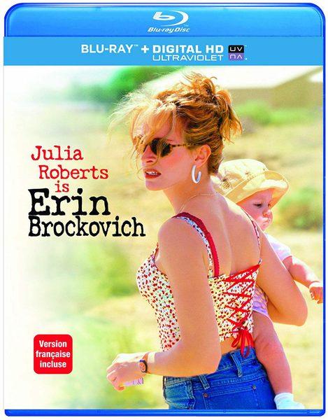 Blu ray cover of Erin Brockovich