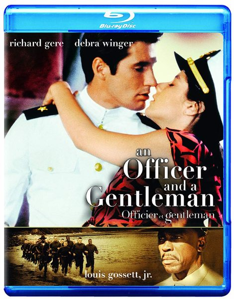 Blu ray cover of An Officer and a Gentleman